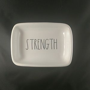 "Other - Rae Dunn Trinket/Soap Dish 5 1/4"" x 3 3/4"""